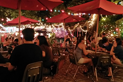 Spider house ballroom and cafe, pet friendly restaurants in Austin, Texas