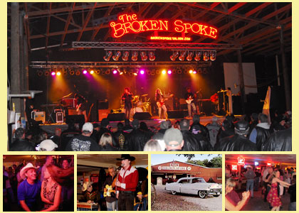 the Broken Spoke in Austin, Texas